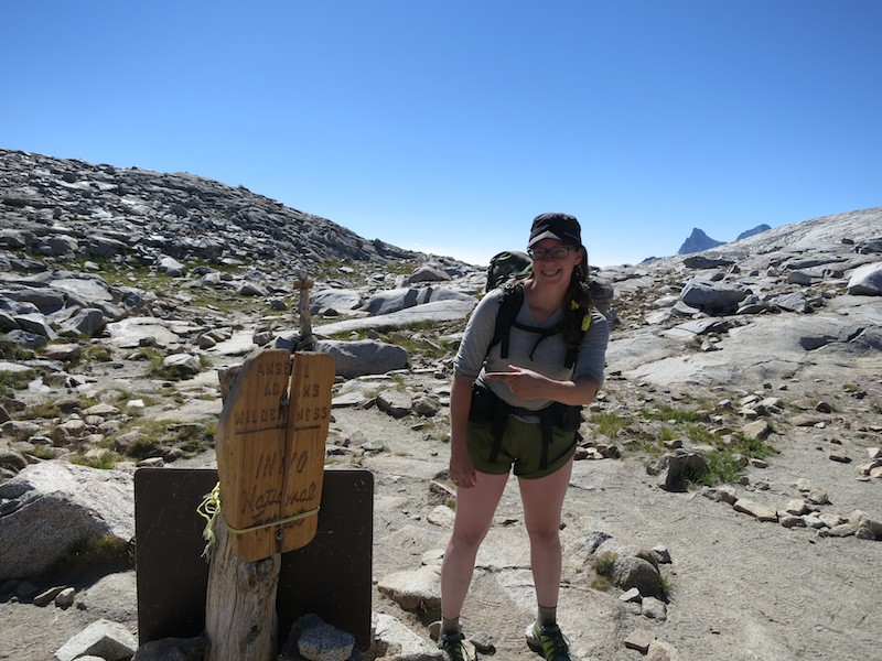 I'm INYO National Forest!