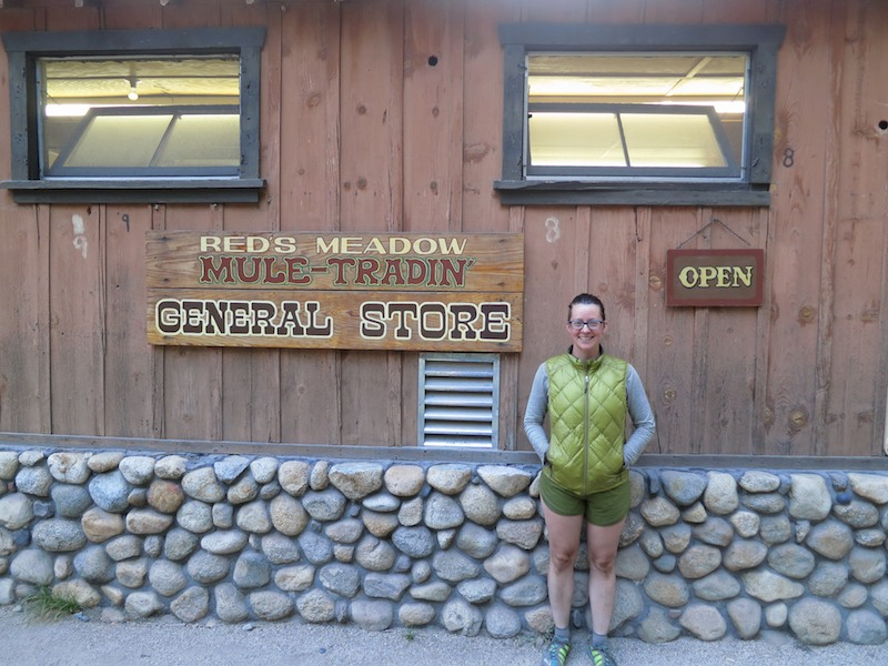 Red's Meadow is also a mule-packing station, for resupplying High Sierra trips.