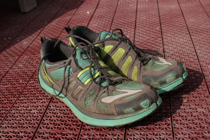 Brooks PureGrit 2s, my footwear for the 2013 JMT.