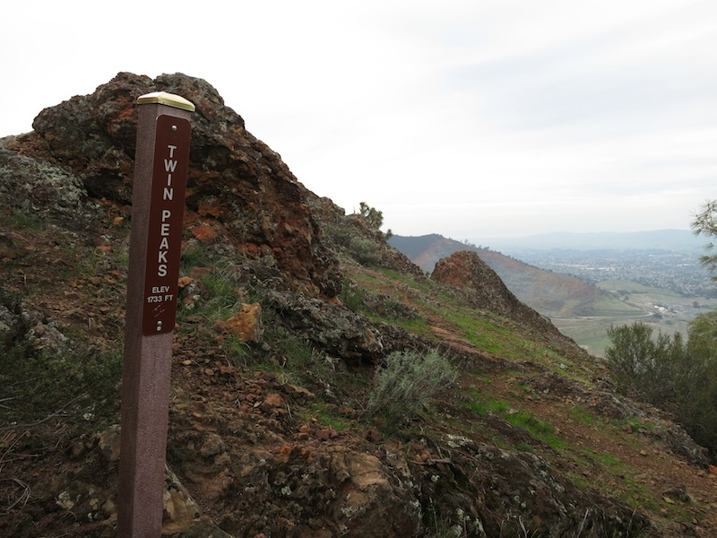 Twin Peaks on Eagle Peak Trail
