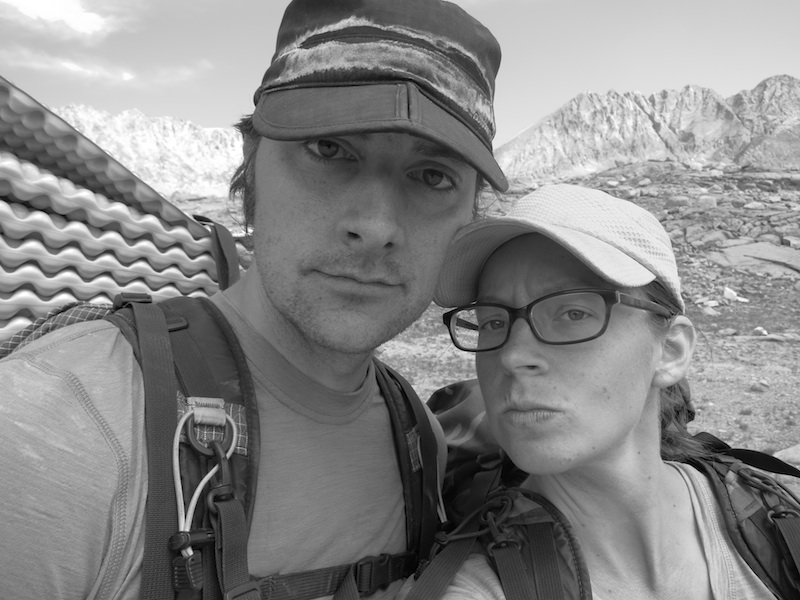 russell and alice on the jmt
