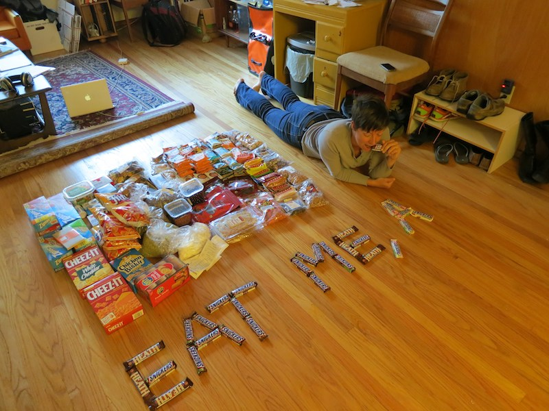 alice and 30 days of PCT food