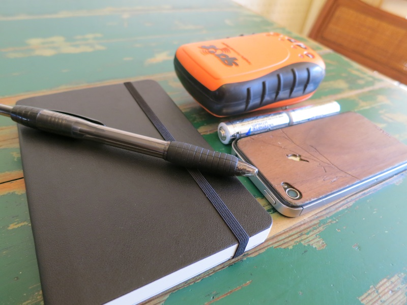 journal, SPOT Satellite Personal Tracker, iphone