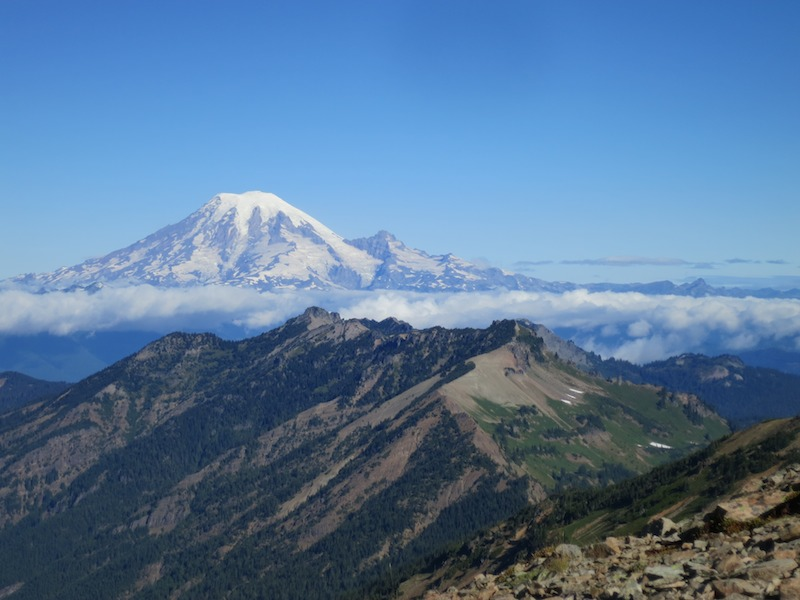 Mt. Rainier from the Knife's Edge.