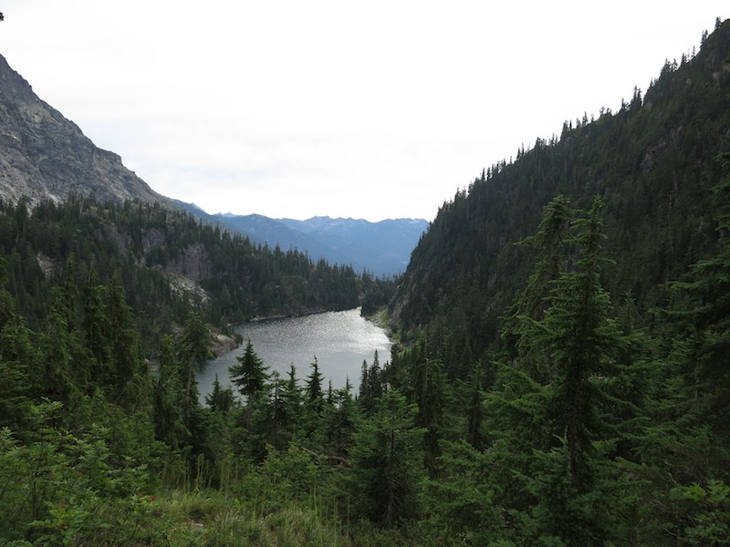 Lake Ivanhoe in the Washington Cascades