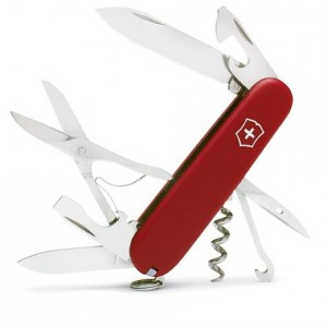 The Swiss Army Climber pocket knife.